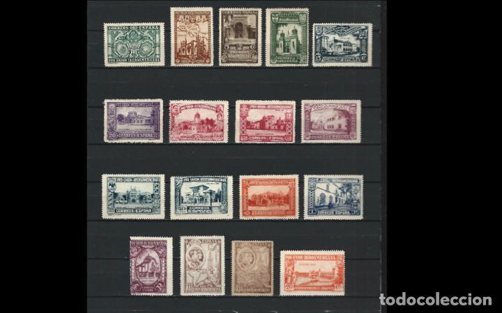 ESPAÑA - 1930 - ALFONSO XIII - EDIFIL 566/582 - SERIE COMPLETA - MH* - NUEVOS - VALOR CATALOGO 203€. (Sellos - España - Alfonso XIII de 1.886 a 1.931 - Nuevos)