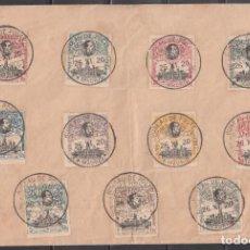 Sellos: 1920-1922 SOBRE CON EL MATASELLOS, * BUREAU DE POSTE MADRID VII CONGRES POSTAL UNIVERSAL*. Lote 167054136