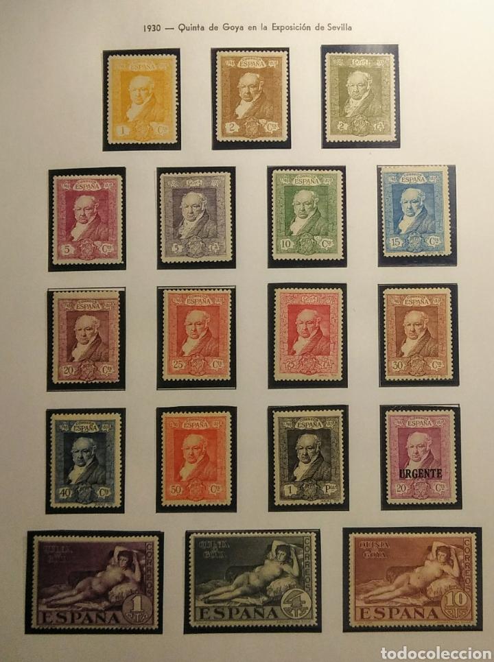1930. QUINTA DE GOYA. SEVILLA. ED. 499/516*. (Sellos - España - Alfonso XIII de 1.886 a 1.931 - Nuevos)