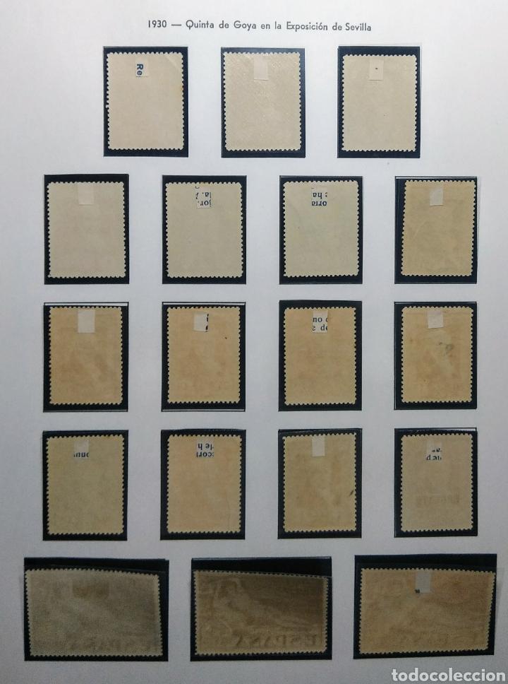 Sellos: 1930. Quinta de Goya. Sevilla. Ed. 499/516*. - Foto 2 - 167759446