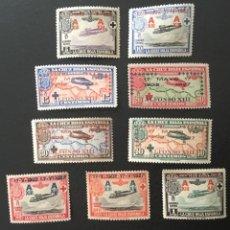 Sellos: 1927-ESPAÑA EDIFIL 363/72 MNH** XXV ANIVERSARIO JURA CONSTITUCIÓN ALFONSO XIII NUEVOS SIN FIJASELLO. Lote 167991460