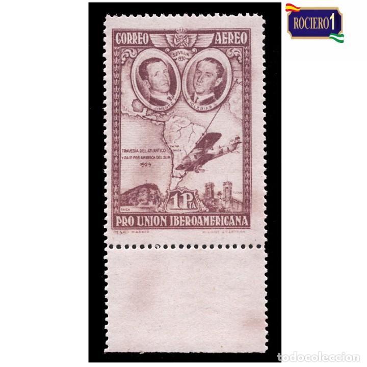 ESPAÑA 1930. EDIFIL 590. PRO UNIÓN IBEROAMERICANA. NUEVO** MNH (Sellos - España - Alfonso XIII de 1.886 a 1.931 - Nuevos)
