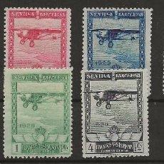 Sellos: R61/ ESPAÑA 1929, EDIFIL 448/53 * MH, CATALOGO 158,00 €. Lote 169821840