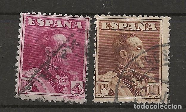 R61/ ESPAÑA 1922-30, EDIFIL 322/23, USADOS, CATALOGO 29,25 € (Sellos - España - Alfonso XIII de 1.886 a 1.931 - Usados)