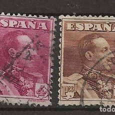 Sellos: R61/ ESPAÑA 1922-30, EDIFIL 322/23, USADOS, CATALOGO 29,25 €. Lote 169891132