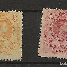 Sellos: R61/ ESPAÑA 1909-22, EDIFIL 271 Y 278, MH*, CATALOGO 59,25 €. Lote 169892836