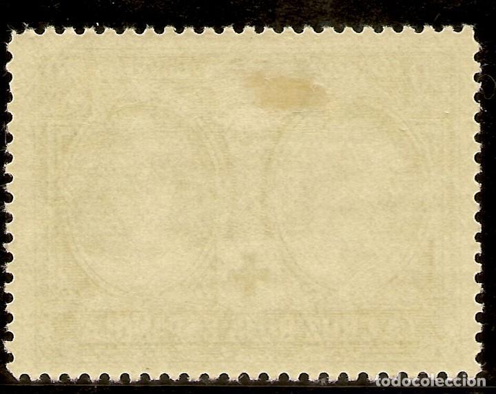 Sellos: ESPAÑA Edifil 332* Mh 30 Céntimos Verde Pro Cruz Roja 1926 NL1117 - Foto 2 - 170302828