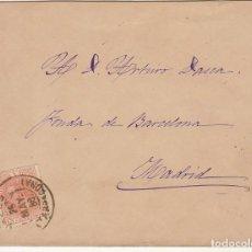 Sellos: VALLS (TARRAGONA) A MADRID.1888.. Lote 170861245