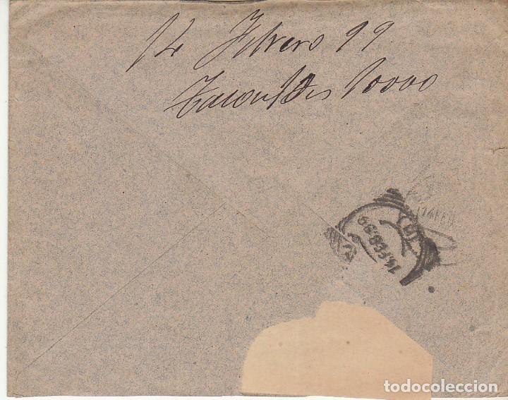 Sellos: CIUDAD RODRIGO (SALAMANCA ) a MADRID.1899. - Foto 2 - 170862795