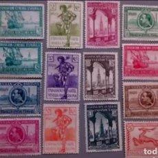 Sellos: ESPAÑA - 1929 - ALFONSO XIII - EDIFIL 434/447 - SERIE COMPLETA - MNG - NUEVOS - BIEN CENTRADOS.. Lote 171034655