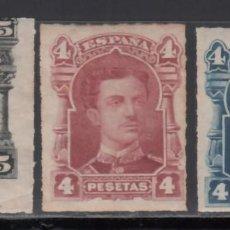 Sellos: ESPAÑA, 1877, PROYECTOS DE SELLOS DE LA AMERICAN BANK & Cº DE NEW YORK, ALFONSO XII. . Lote 171141289