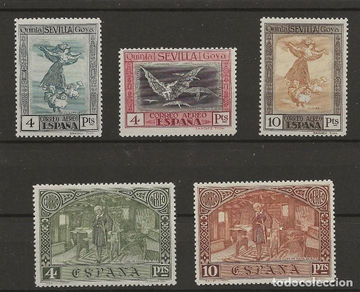 R61/ ESPAÑA 1930, EDIFIL 527/9 MNH **, 557/8 MNH** (Sellos - España - Alfonso XIII de 1.886 a 1.931 - Nuevos)