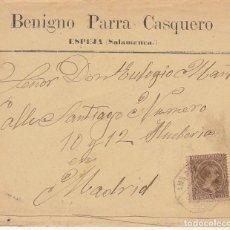 Sellos: SELLO 219. ALFONSO XIII. ESPEJA (SALAMANCA) A MADRID.1900. Lote 171241308
