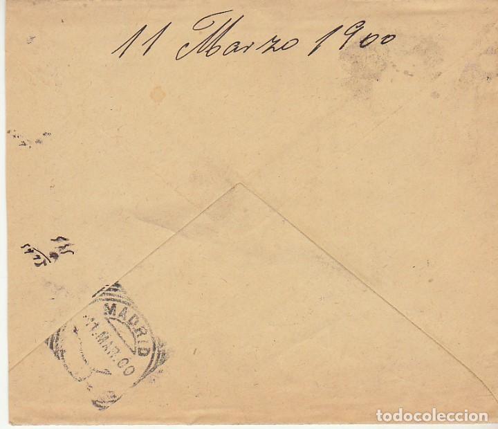 Sellos: Sello 219. ALFONSO XIII. ESPEJA (SALAMANCA) a MADRID.1900 - Foto 2 - 171241308