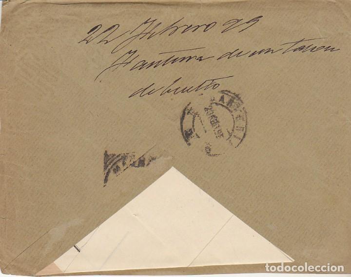 Sellos: Sellos 219-240. ALFONSO XIII. LA BAÑEZA (LEÓN) a MADRID.1900. - Foto 2 - 171252194