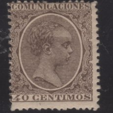 Sellos: 1889-99 ALFONSO XIII TIPO PELON EDIFIL 223* VC 82,00€. Lote 171449653