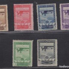 Sellos: 1929 EXPOSICIONES DE SEVILLA Y BARCELONA EDIFIL 448/53* V. CATALOGO 156,00€. Lote 171455413