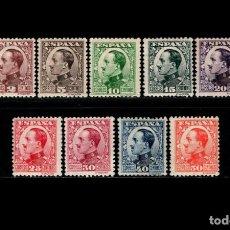 Sellos: ESPAÑA - 1930-1931 - ALFONSO XIII - EDIFIL 490/498 - SERIE COMPLETA - MNH**/* - NUEVOS.. Lote 171596165