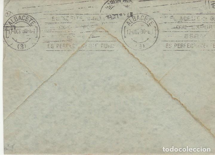 Sellos: Sello 317. ALFONSO XIII: ALBACETE A BARCELONA.1930 - Foto 2 - 171697845