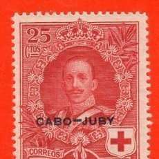 Sellos: SELLO CABO JUVY ALFONSO XIII 1926. CRUZ ROJA. Lote 172280302