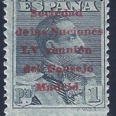 Sellos: EDIFIL 465 SOCIEDAD DE LAS NACIONES. REUNIÓN DEL CONSEJO EN MADRID 1929. VALOR CATÁLOGO: 23 €. MLH.. Lote 172631287