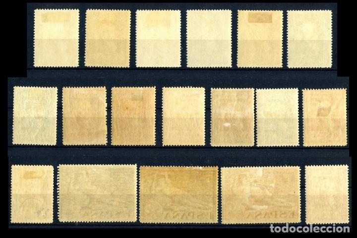 Sellos: SERIE COMPLETA - EDIFIL 499/516 - QUINTA DE GOYA EN LA EXPOSICIÓN DE SEVILLA - 1930 - REF708 - Foto 3 - 173518473