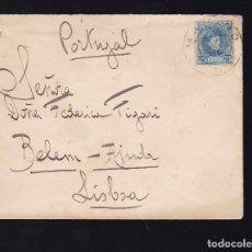 Sellos: F6-21- CARTA MADRID - LISBOA 1904. Lote 173654227