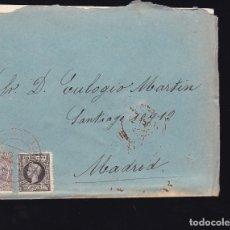 Sellos: F6-26- CARTA SANTO DOMINGO DE LA CALZADA LOGROÑO 1898. CON TEXTO. Lote 173657470