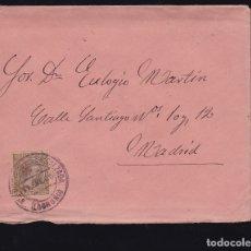 Sellos: F6-26- CARTA SANTO DOMINGO DE LA CALZADA LOGROÑO 1900. CON TEXTO. Lote 173657815