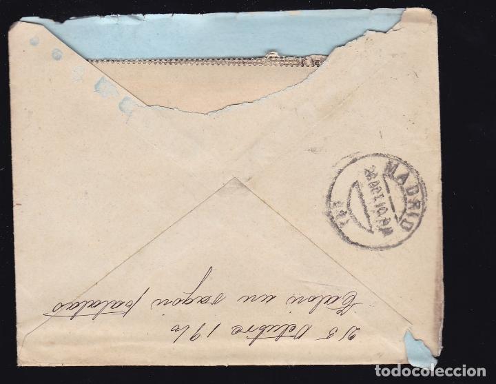 Sellos: F6-27- Carta SANTO DOMINGO de la CALZADA . Logroño 1910. Con Texto - Foto 2 - 173658480