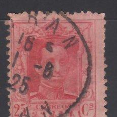 Sellos: ESPAÑA,1922 EDIFIL Nº 315, TIPO VAQUER, MATASELLOS DE ARGELIA, *ORAN*. Lote 174194260