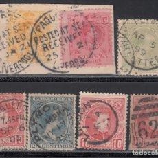 Sellos: ESPAÑA, LOTE DE DISTINTOS MATASELLOS DE *PAQUEBOT*. Lote 174194298