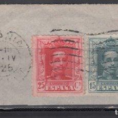 Sellos: ESPAÑA, 1922 EDIFIL Nº 315, 317, MATASELLOS ITALIA *CATANIA*. Lote 174194339