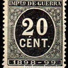 Selos: ESPAÑA 1898 - EDIFIL 239. Lote 175794145