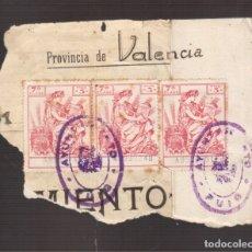 Sellos: SELLOS MUY ANTIGUOS DE PAGOS . Lote 176767472