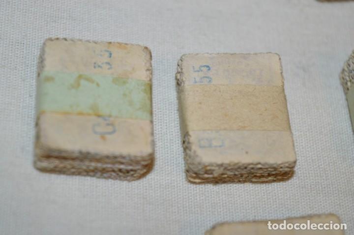Sellos: Oportunidad 1000 Sellos - ALFONSO XIII - Tipo MEDALLÓN - 20 Cts, Reverso numerados, en pastillas 100 - Foto 14 - 176814012
