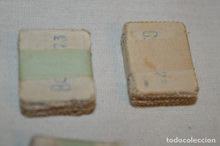 Sellos: Oportunidad 1000 Sellos - ALFONSO XIII - Tipo MEDALLÓN - 20 Cts, Reverso numerados, en pastillas 100 - Foto 15 - 176814012