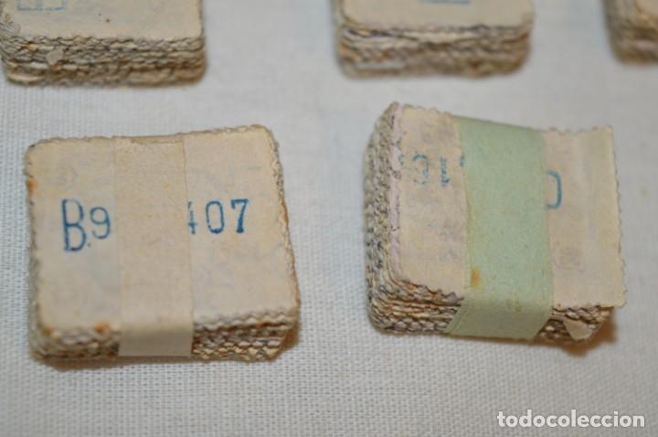Sellos: Oportunidad 1000 Sellos - ALFONSO XIII - Tipo MEDALLÓN - 20 Cts, Reverso numerados, en pastillas 100 - Foto 16 - 176814012