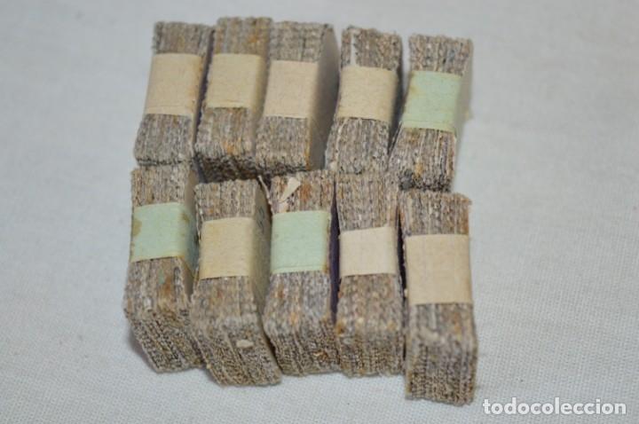 Sellos: Oportunidad 1000 Sellos - ALFONSO XIII - Tipo MEDALLÓN - 20 Cts, Reverso numerados, en pastillas 100 - Foto 17 - 176814012