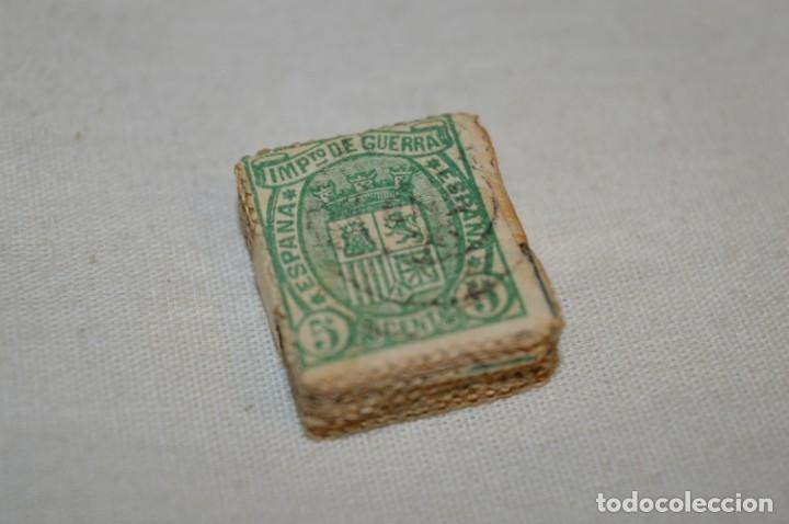 OPORTUNIDAD 100 SELLOS, ALFONSO XII / 1ª REPÚBICA 1875 - IMPUESTO DE GUERRA - 5 CTS - PASTILLA 100 (Sellos - España - Alfonso XIII de 1.886 a 1.931 - Usados)