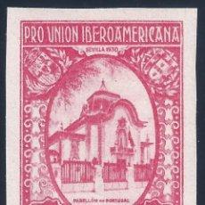 Sellos: EDIFIL 579 PRO UNIÓN IBEROAMERICANA 1930 (VARIEDAD 579CCAS... ROSA). VALOR CATÁLOGO: 42 €. MNH **. Lote 177712653
