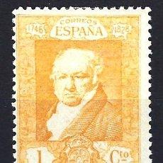 Sellos: ESPAÑA 1930 - FRANCISCO DE GOYA - EDIFIL 499 - MLH* NUEVO. Lote 177831055