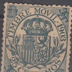 Sellos: FISCALES POSTALES, EDIFIL S/C. 25 C DE 1903. . Lote 178221375