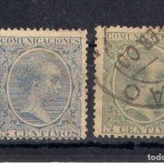 Sellos: ESPAÑA 1889 EDIFIL 215/216 - 6/25. Lote 179087207