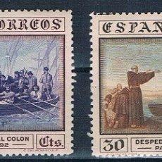 Sellos: ESPAÑA 1930 COLON EDIFIL 540 Y 542 MNH** GOMA ORIGINAL DOS FOTOGRAFÍAS 47€. Lote 179110711
