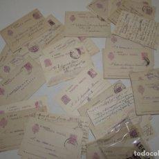 Sellos: ST- HISTORIA POSTAL LÉRIDA GRAN LOTE 66 ENTEROS POSTALES ANTIGUOS VER 5 IMÁGENES. Lote 179112861