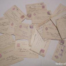 Sellos: ST- HISTORIA POSTAL GERONA GRAN LOTE 77 ENTEROS POSTALES ANTIGUOS VER 4 IMÁGENES. Lote 179112936