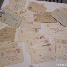 Sellos: ST- HISTORIA POSTAL BARCELONA GRAN LOTE 103 ENTEROS POSTALES ANTIGUOS VER 5 IMÁGENES. Lote 179113040
