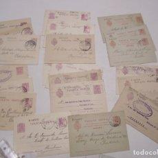 Sellos: ST- HISTORIA POSTAL SEVILLA GRAN LOTE 23 ENTEROS POSTALES ANTIGUOS VER 5 IMÁGENES. Lote 179113300