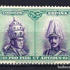 Sellos: ESPAÑA 1928 - PRO CATACUMBAS - 15 CÉNTIMOS - EDIFIL 424 - MG* NUEVO. Lote 179543840